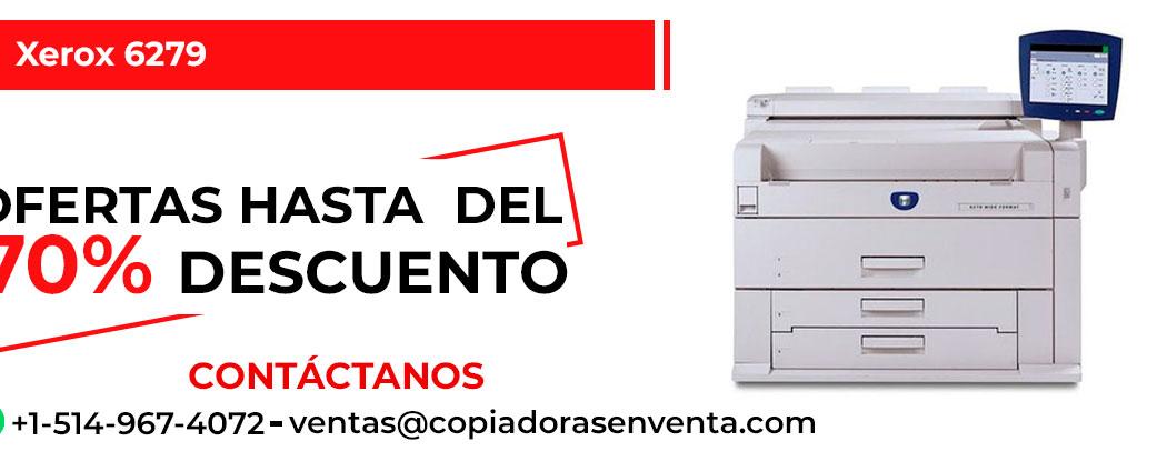 Impresora de Gran Formato a Blanco y Negro Xerox 6279 en venta