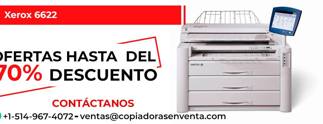 Impresora de Gran Formato a Blanco y Negro Xerox 6622 en venta