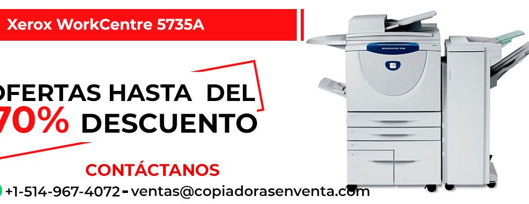 Fotocopiadora a Blanco y Negro Xerox WorkCentre 5735A en venta