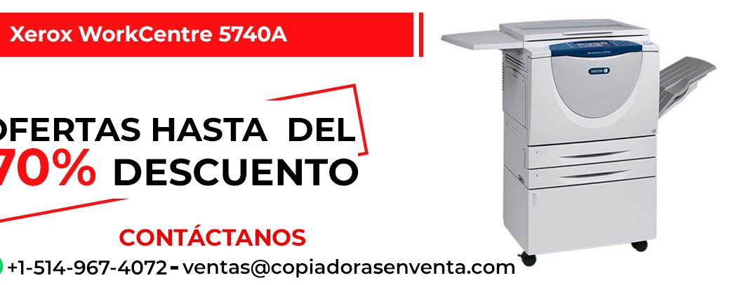 Fotocopiadora a Blanco y Negro Xerox WorkCentre 5740A en venta