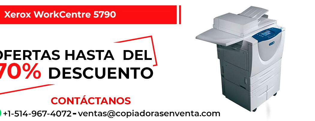 Prensa Digital a Blanco y Negro Xerox WorkCentre 5790 en venta