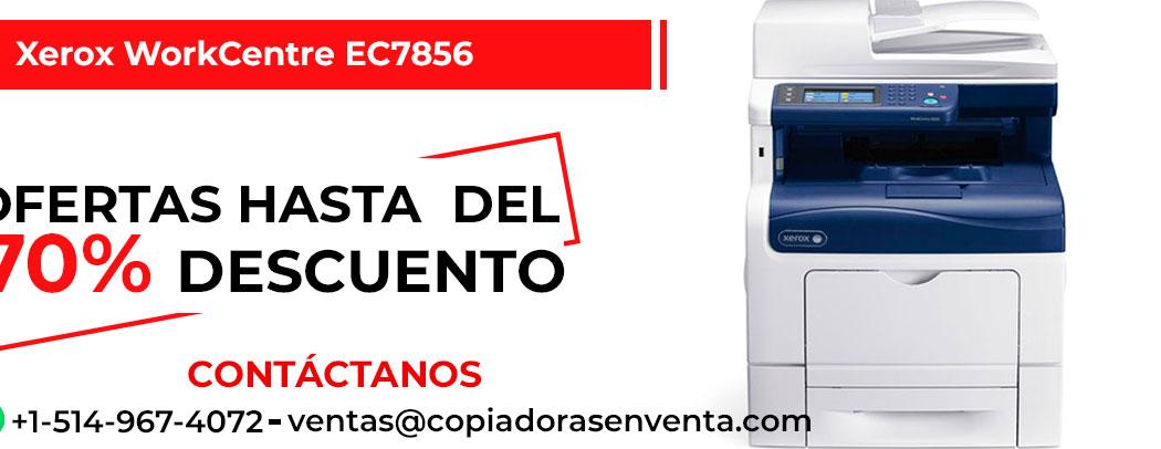 Fotocopiadora a Color Xerox WorkCentre EC7856 en venta