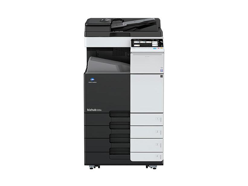 Fotocopiadora bizhub 308e usada