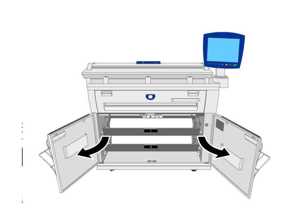Fotocopiadora Xerox 6604 usada